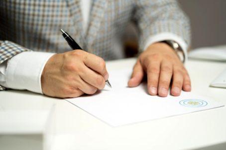 Подпись по доверенности